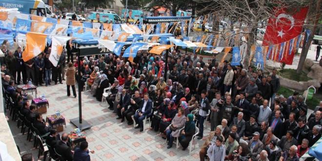 Ak Parti 25. Dönem Milletvekili Adayları İlçemizi Ziyareti