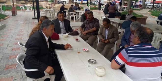 Başkanımız Almus Halkı ve Çevre Köy ve Kasabaları Halkı ile Görüştü