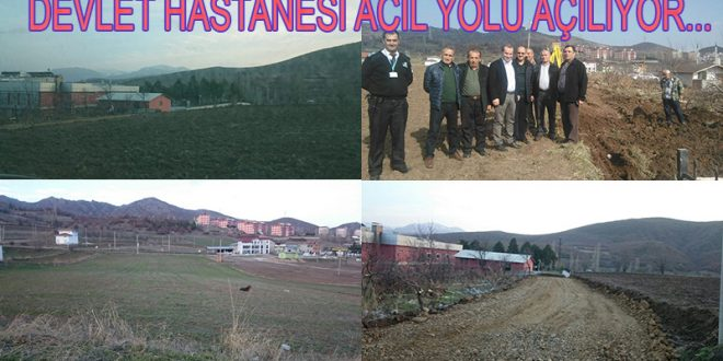 ALMUS DEVLET HASTANESİ ACİL YOLU AÇILIYOR