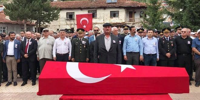 BELEDİYE BAŞKANIMIZ KORE GAZİSİNİN CENAZE TÖRENİNE KATILDI..